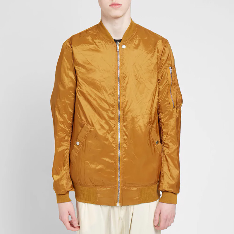 NYLON FLIGHT MA 1 BOMBER JACKET